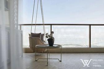 140平米三室两厅法式风格阳台装修案例