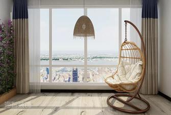 50平米一居室北欧风格阳台装修图片大全