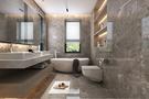 140平米复式现代简约风格卫生间装修案例