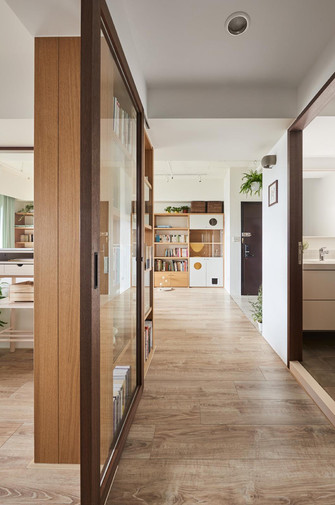90平米日式风格走廊装修图片大全