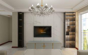 130平米三室两厅东南亚风格客厅图片
