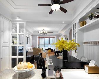 90平米美式风格厨房装修图片大全
