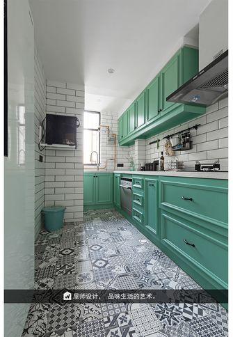 130平米三英伦风格厨房装修案例