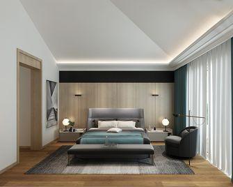 20万以上140平米别墅现代简约风格卧室设计图