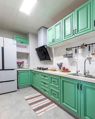120平米一室两厅北欧风格厨房图片