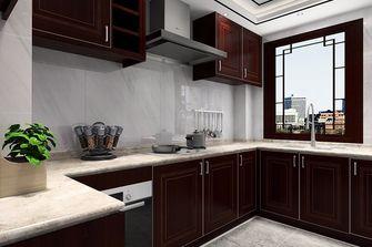 90平米现代简约风格厨房装修图片大全