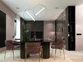 140平米公寓新古典风格客厅图