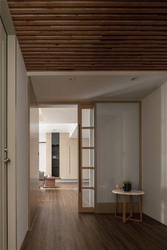 130平米三室一厅日式风格走廊效果图