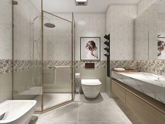 140平米混搭风格卫生间设计图