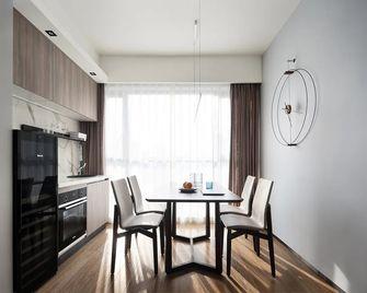 120平米三室一厅英伦风格餐厅装修图片大全