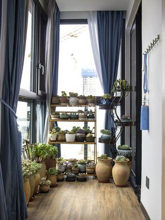 140平米四室两厅日式风格阳台设计图