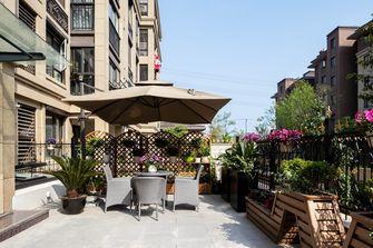 20万以上140平米别墅美式风格阳台装修图片大全