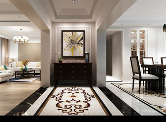 140平米别墅混搭风格走廊效果图