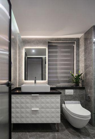 90平米三现代简约风格卫生间欣赏图
