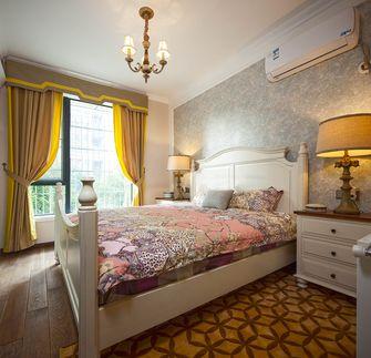 140平米四室两厅田园风格卧室欣赏图