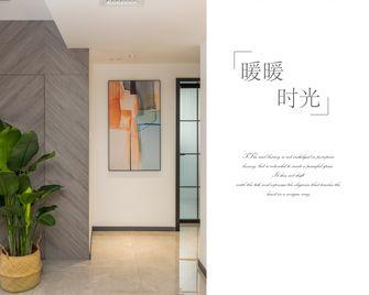 140平米三室两厅现代简约风格走廊图片