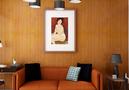 60平米一室一厅混搭风格客厅设计图