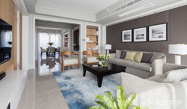 140平米三室两厅宜家风格客厅装修图片大全