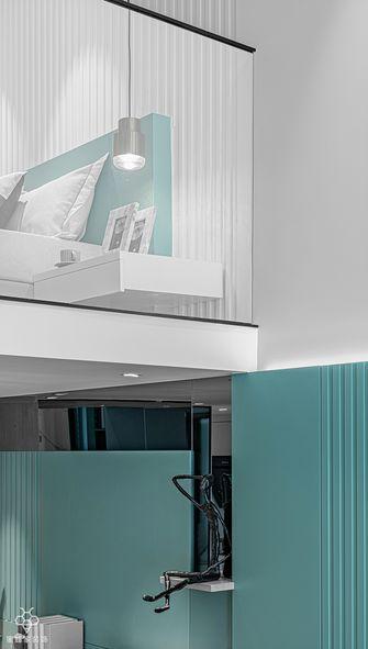 50平米复式现代简约风格阁楼图