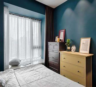 80平米混搭风格卧室图