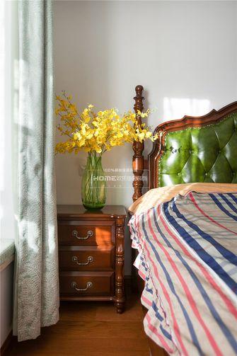 140平米四室两厅田园风格卧室图片