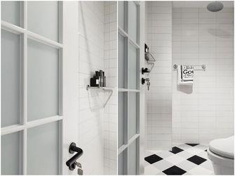 60平米一室一厅北欧风格卫生间图片