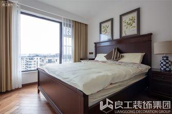 80平米三室一厅美式风格卧室图
