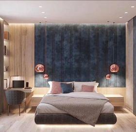 70平米現代簡約風格臥室裝修效果圖