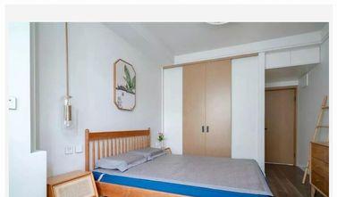 60平米一居室中式风格卧室设计图