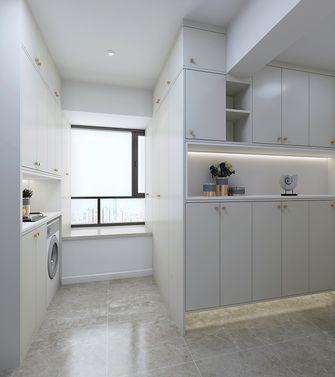 100平米三室一厅美式风格玄关图片