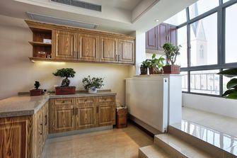 富裕型140平米三室两厅中式风格储藏室装修案例