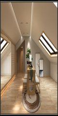 120平米复式中式风格阁楼装修案例