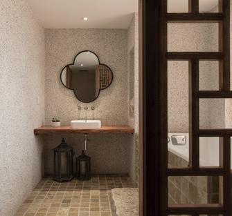 110平米三室两厅日式风格梳妆台欣赏图
