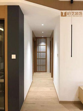 80平米三室两厅日式风格走廊装修案例