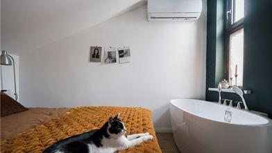 50平米公寓东南亚风格卧室欣赏图