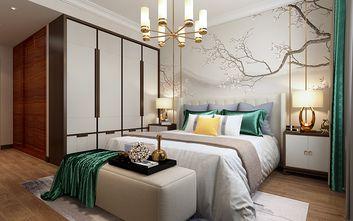 90平米中式风格卧室装修图片大全