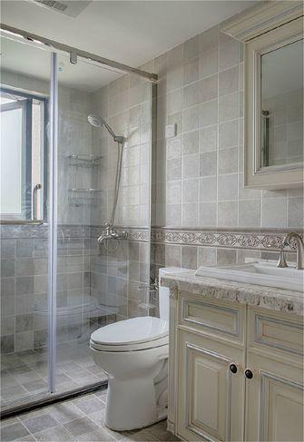 100平米公寓法式风格卫生间欣赏图