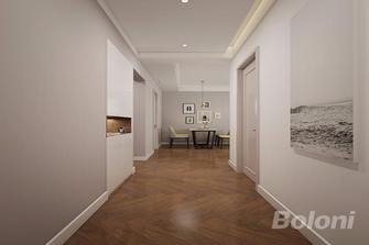 120平米三室两厅欧式风格走廊效果图