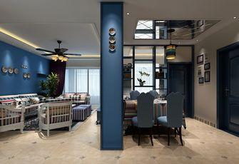 80平米地中海风格餐厅欣赏图