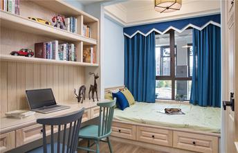 120平米三室两厅混搭风格书房图片