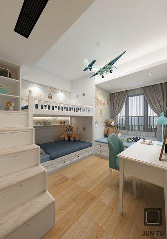 130平米四室两厅日式风格儿童房装修案例