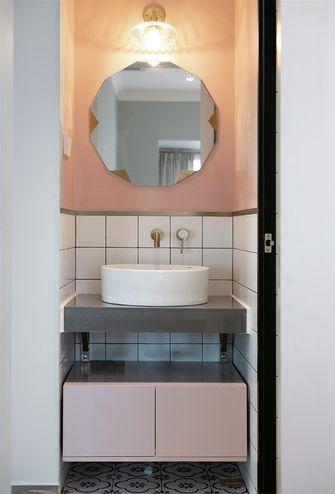 80平米三室两厅新古典风格卫生间图片