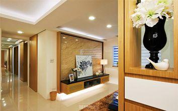 80平米三室两厅现代简约风格玄关门口图片大全