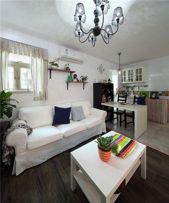 60平米公寓田园风格客厅欣赏图
