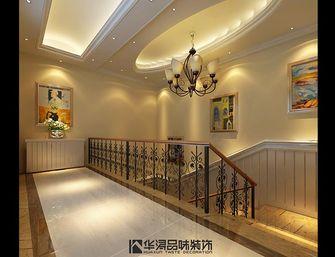 140平米别墅田园风格楼梯间装修图片大全