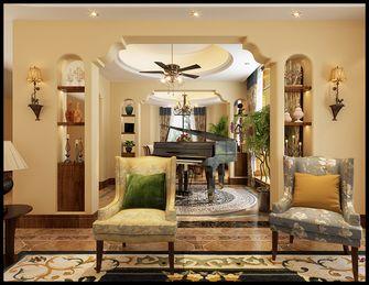 140平米别墅地中海风格影音室图片