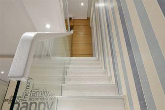 70平米复式现代简约风格楼梯间装修图片大全