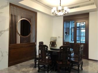 120平米三室两厅中式风格餐厅装修图片大全