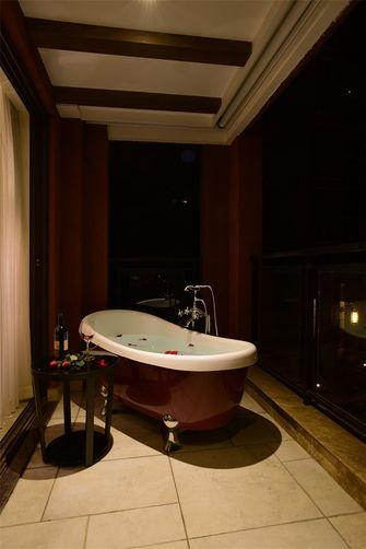 100平米三室两厅田园风格卫生间装修效果图