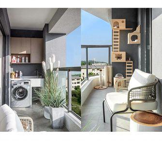 90平米三室两厅混搭风格阳台装修效果图